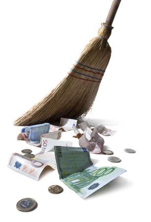 sweeping euros