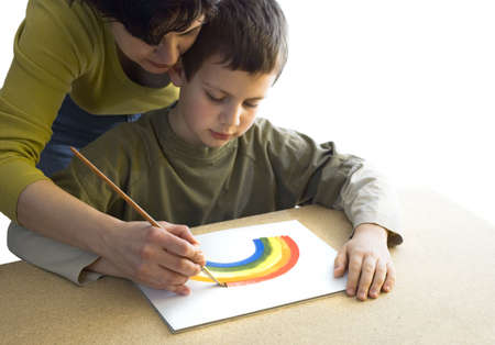 learn creativity isolated focus on hands Stock Photo - 6452507