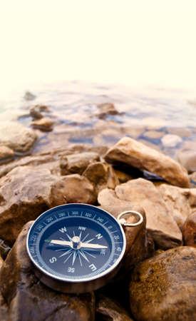 kompas op de bank
