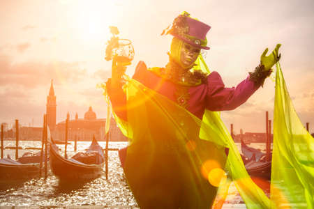 scenical: welcome to Venice Stock Photo