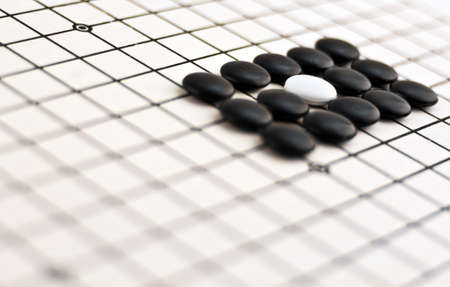 Traditional Chinese Board Game - Go Stock Photo