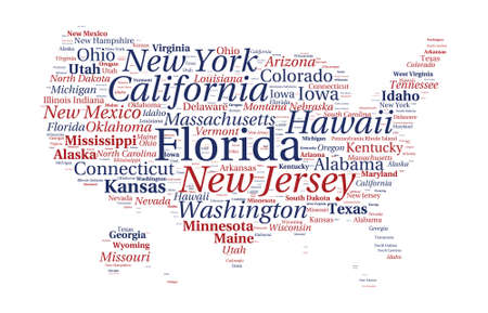mexico city: United States of America word cloud