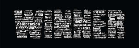 Winner concept word cloud