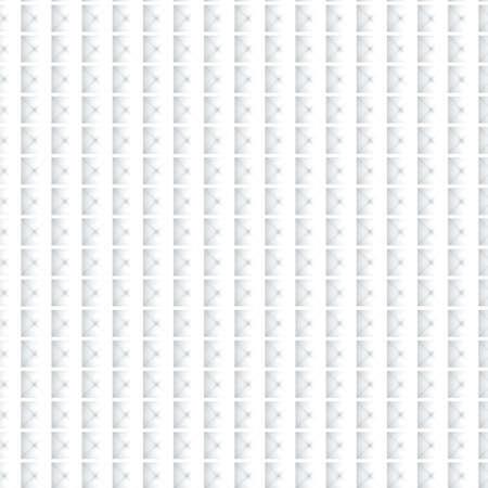 Seamless Abstract Geometric White Pattern Stock Photo