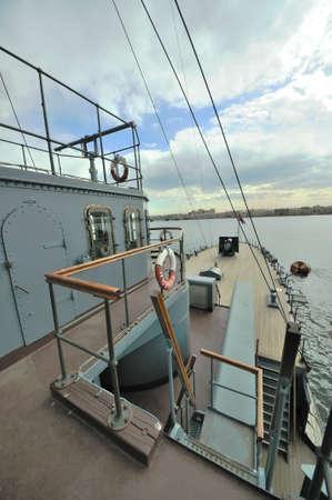 St. Petersburg. Russia. Revolution Landmark cruiser