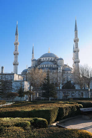 suleymaniye: Blue Mosque, one of the main attractions of Istanbul. Turkey.