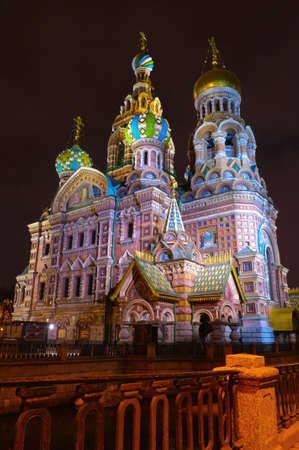 st  petersburg: Russia, St. Petersburg, Orthodox Church Spas na Krovi