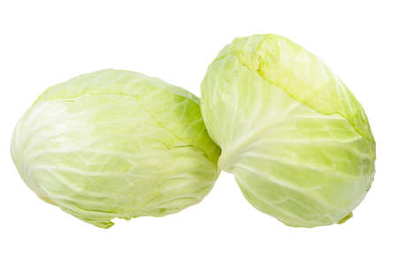 Two Heads of cabbage