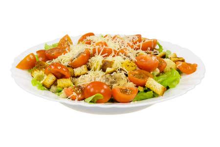 Caesar salad plate