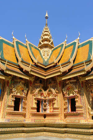 A magnificent temple in one of the highest mountain in Thailand.
