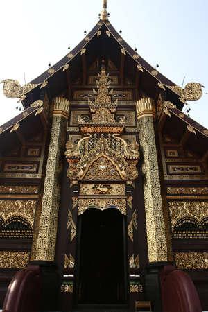 A temple in Chiangmai