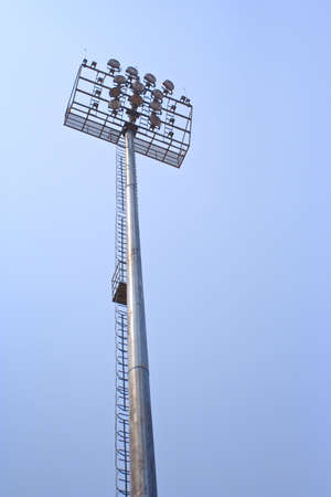 Spotlight in a  stadium