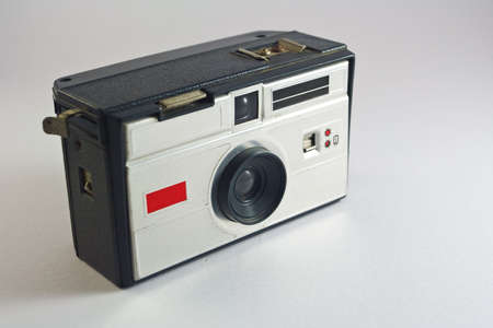 an old camera. very popular for travel and family photography.