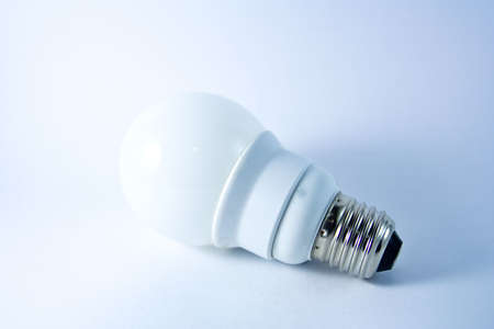 A light bulb on withe screen