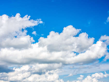 Cloud and bright blue sky Stock Photo - 16295071