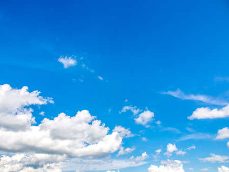 Cloud and bright blue sky  Stock Photo - 16295072