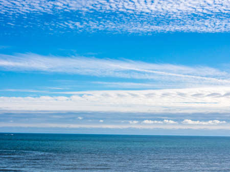 view of sea and blue sky