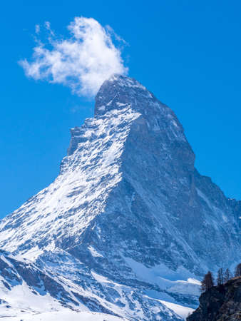 Close up view of Matterhorn in a sunny day  Stock Photo - 19625537