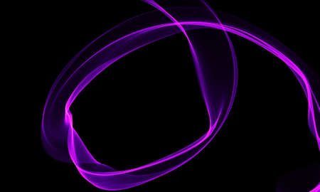 energy background: Colored Light Energy Streak Design Element on Black Background