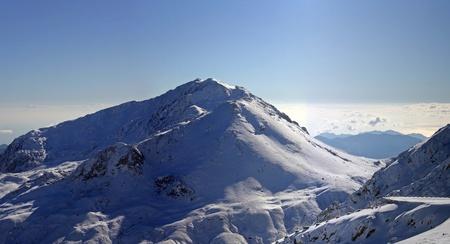 kilometres: Snow mountain in 50 kilometres from Antalya, Turkey