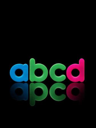 abcd: abcd plastic alphabet