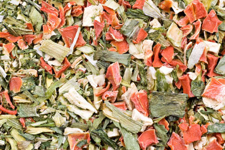 spicery: spicery background,dried vegetables in varying ratios Stock Photo