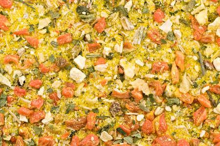 dried vegetables: Imagen de fotograma completo de las especias de legumbres secas