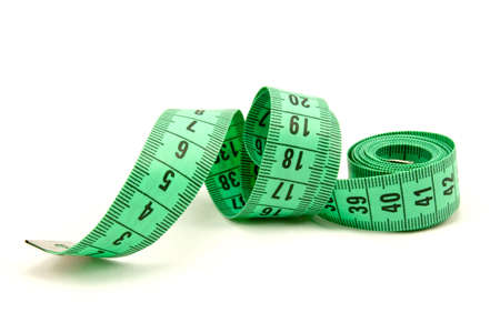 tailor tape: Measuring tape of the tailor ,  on white background