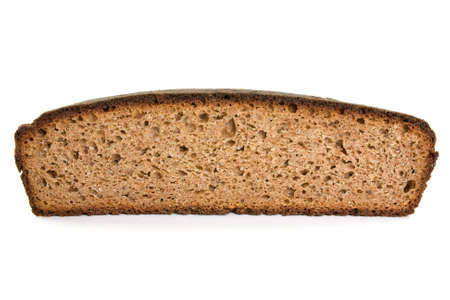 healthy homemade bread over a white background Stock Photo - 10824626