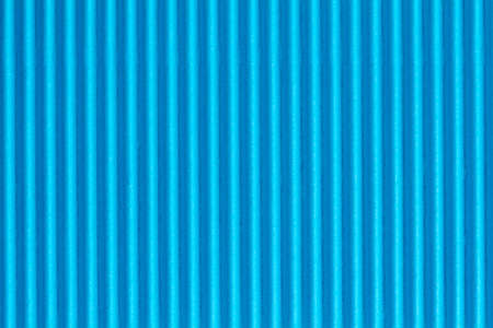 crimp: Blue textured corrugate cardboard, can be used as background