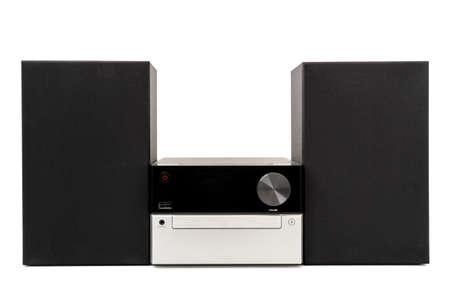 Lecteur CD et USB numérique sur fond blanc