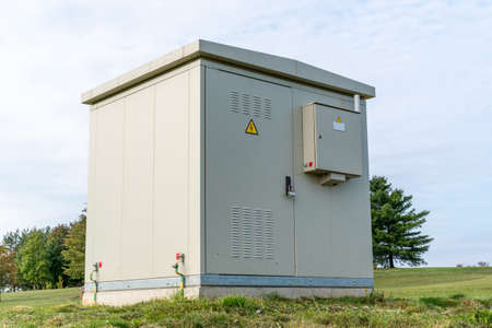Electrical cabin controller for control high voltage system in the park