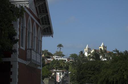 Church of St. Salvador, Olinda, Pernambuco, Brazil, South America.