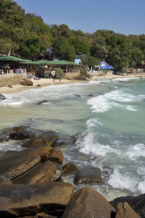 samet: Ao Thian bay and beach on Ko Samet island, Thailand.