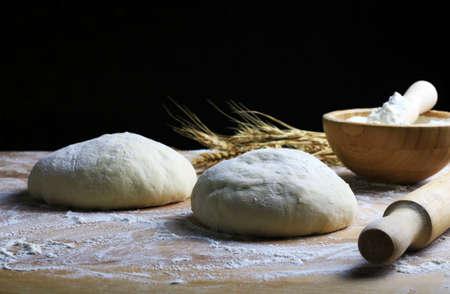 Fresh pasta ready for cooking Stok Fotoğraf