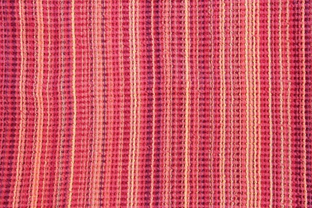 Red woven fabric Stock Photo