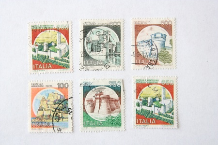 stamp collecting: Postage stamps from Italy