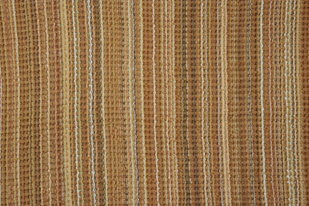 Brown woven fabric