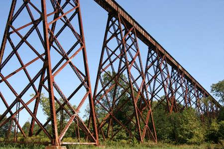 trestle: Train trestle  Stock Photo