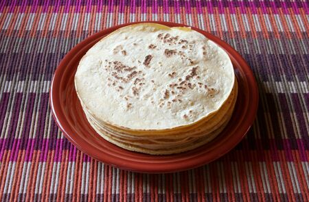 tortillas: Corn tortillas with cheese