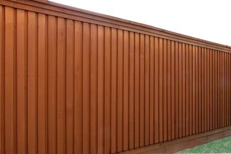 el cedro: Visi�n de �ngulo de valla de cedro