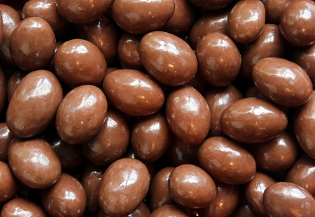 Chocolate covered almonds