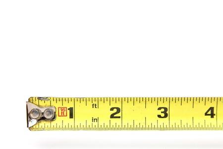 4 インチのテープ メジャー