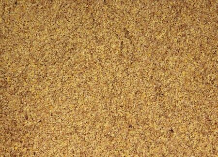 flax seed oil: Ground flax seed
