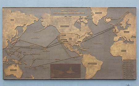 Mobile, Alabama, November 2011 - USS Alabama WWII history Editorial