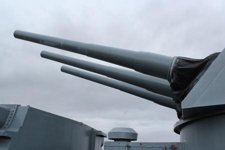 Mobile, Alabama, November 2011 - Guns on USS Alabama