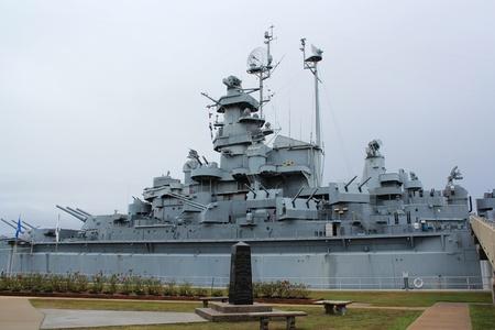 Mobile, Alabama, November 2011 - USS Alabama and propeller
