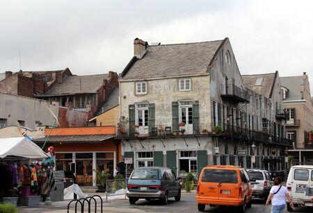 November 2011:  French Quarter New Orleans street view