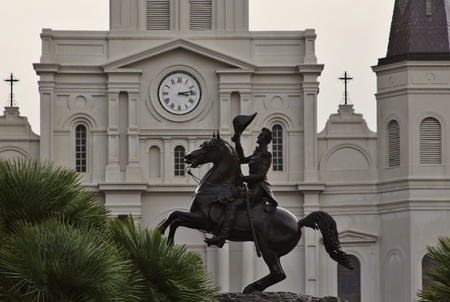 November 2011:  Jackson Square, New Orleans - Sculpture of Andrew Jackson