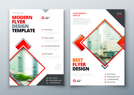 Flyer design. Corporate business report cover, brochure or flyer design. Leaflet presentation. Teal Flyer with abstract circle, round shapes pattern. Modern poster magazine, layout, template. A4. Illustration